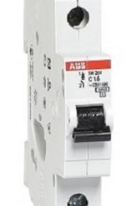 MCB ABB 1P 6KA 16A SH201L-C16 2CDS211001R0164