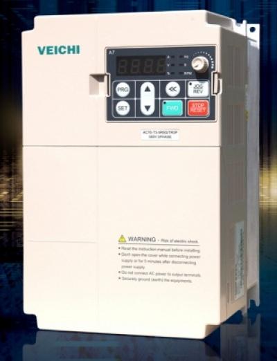 Biến Tần vào 1pha 220V ra 3 pha 380V Công suất lớn 0.75-75Kw