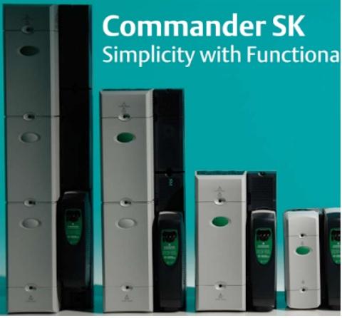 Bảng mã lỗi biến tần Emerson Commander SK