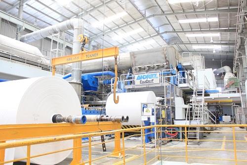 Biến tần cho các nhà máy giấy