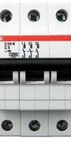 MCB ABB 3P 10KA 6A S203M-C6 2CDS273001R0064